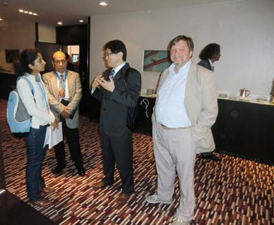 Dr Kirsten mit Prof Yoshimura in Tokio