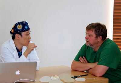 Reise nach Korea in die Klinik fuer Stammzellen